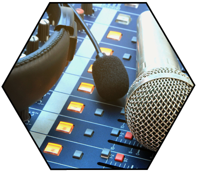 audio recording. audio editing, audio mixing